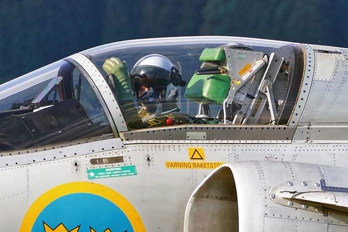 Pilot in Viggen